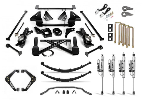 Cognito 12-Inch Performance Lift Kit With Fox Psrr 2.0 For 01-10 Silverado/sierra 2500/3500 2Wd/4Wd