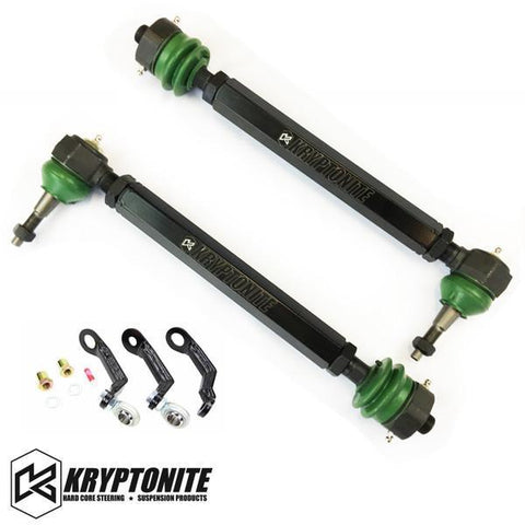 Kryptonite Death Grip Tie Rods W/ Pisk Kit 11-18 Chevy/gmc 2500/3500 Hd