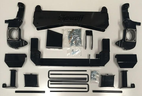 "SHOW OFF 7-9"" 01-10 CHEVY / GMC 1500HD / 2500HD 4WD W/ REAR BLOCKS"