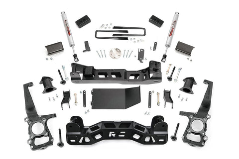 2011-2013 Ford F150 4Wd 6 Rough Country W/struts 2009-2013