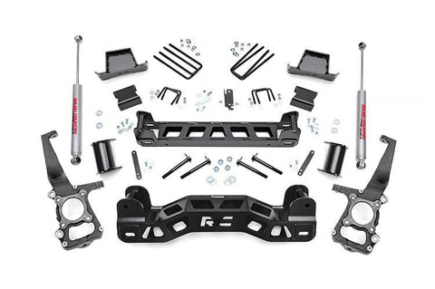 09-14 Ford F150 2Wd 6 Rough Country Lift Kit 2009-2013