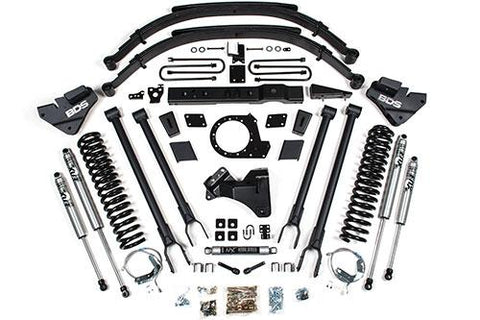 "2017-2020 FORD F250 8"" BDS LONG ARM KIT"