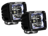 Rigid Industries Radiance Pods With Back-Light No Harness / White Led Light Bars/pods