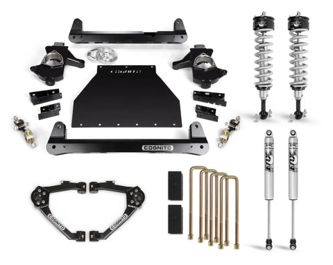 Cognito 6-Inch Performance Lift Kit With Fox Ps Ifp 2.0 Shocks For 07-18 Silverado/sierra 1500