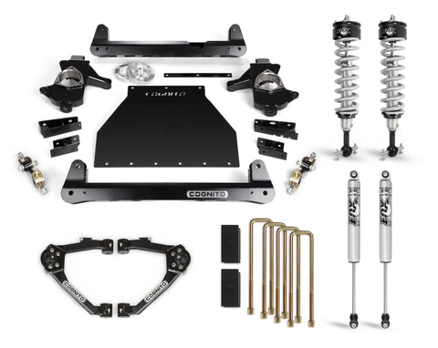 Cognito 6-Inch Performance Lift Kit With Fox Ps Ifp 2.0 Shocks For 14-18 Silverado/sierra 1500