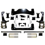09-13 Ford F150 4Wd 6 Fts Lift Kit Shock Extenders / Raw 2009-2013