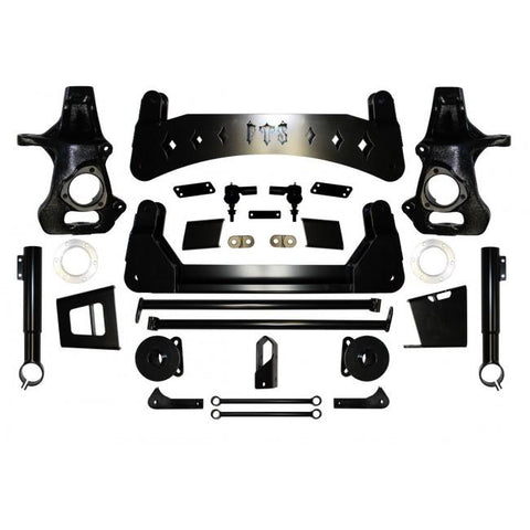 07-13 Chevy/gmc Suv 1500 7-9 Fts Lift Kit 2007-2013