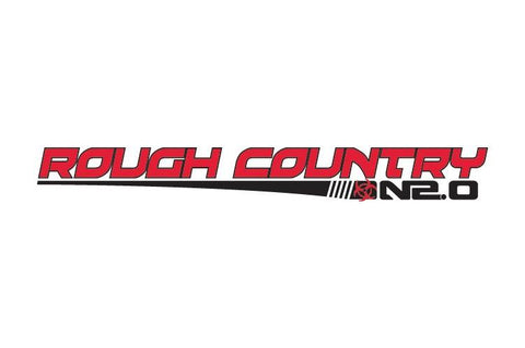 Rough Country N2.0 Shock Decal