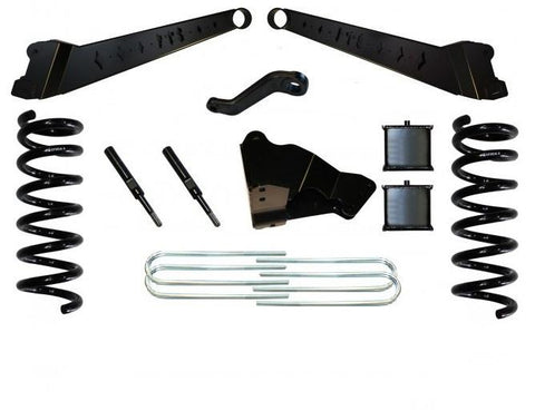 "05-07 FORD F250 FTS 4"" RADIUS ARM KIT W/ REAR BLOCKS"