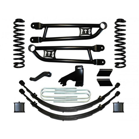 "2008-2016 FORD F250 8"" FTS LIFT KIT W/ RADIUS ARMS & REAR LEAF SPRINGS"