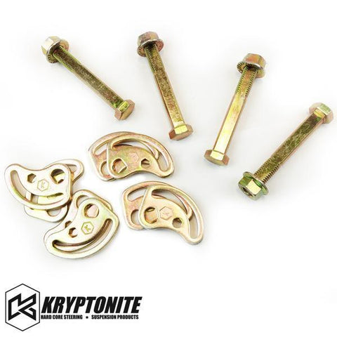 Kryptonite Cam Bolt Kit 99-10 Chevy/gmc 2500/3500 2000-2010 1500Hd / 2500Hd 3500Hd