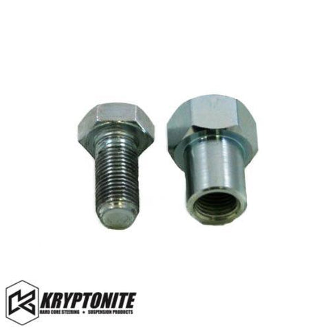 Kryptonite Shank Nut For Pisk Kit Fine Thread (Silver) / With Lock Bolt (+$4.99) Steering Components