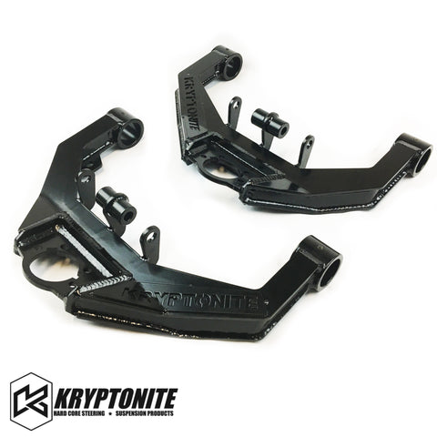 Kryptonite Upper Control Arm Kit Stage 2 Dual Shock 2001-2010 Steering Components 01-10