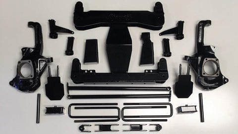 11-19 Chevy/gmc 2500/3500 Show Off 4-6 Lift Kit 2011-2017 2500 Hd