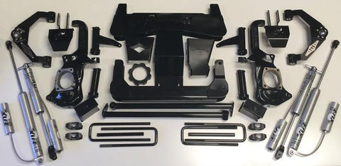 11-19 Chevy/gmc 2500/3500 Show Off 7-9 Stage 2 Kit Lift 2011-2017 2500 Hd