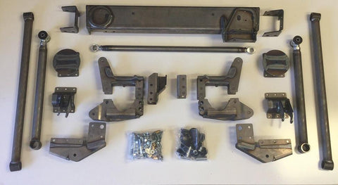 07-18 Chevy/gmc 1500 2Wd/4Wd Rear 4-Link Kit Show Off Lift Kits