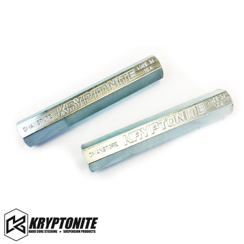 Kryptonite Zinc Plated Tie Rod Sleeves Steering Components 01-10