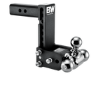 "B&W TOW STOW ADJUSTABLE BALL MOUNT 7"" DROP - 7.5"" RISE 2"" SHANK"