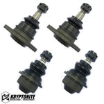Kryptonite Upper And Lower Ball Joint Package Deal (For Aftermarket Control Arms) 2001-2010 Black