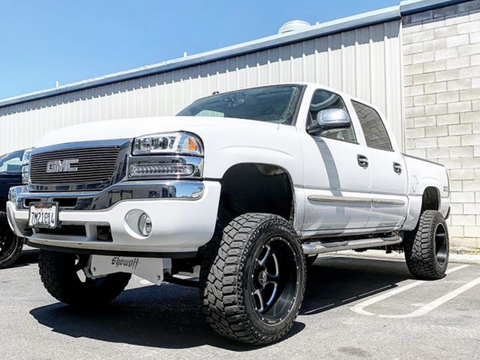 99-06 Chevy/gmc 1500 4Wd 7-9 Showoff Lift Kit 1999-2006
