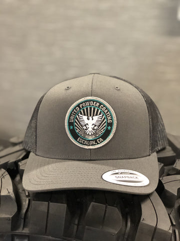 United Powder Coating Patch Hat (Mesh Snapback) Hats
