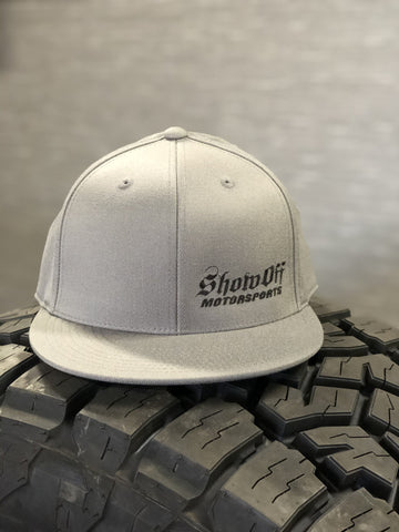 Show Off Grey (Flexfit) Hats