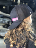 Youth Black/pink Show Off Hat Show Off Gear