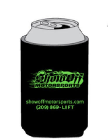 Show Off Drink Koozie Green Accessories