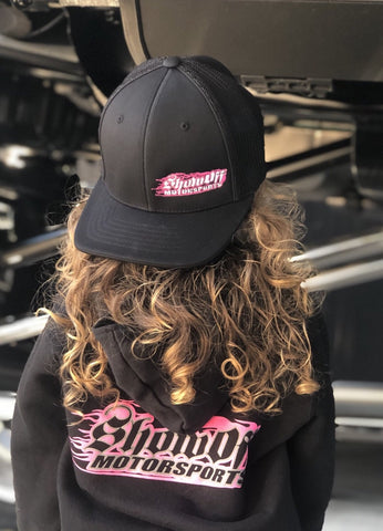 Youth Black/Pink Show Off Hat