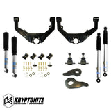 Kryptonite Stage 3 Leveling Kit With Bilstein Shocks 2001-2010 Steering Components 01-10