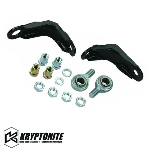 Kryptonite Pitman And Idler Arm Support Kit 2000-2006 1/2 Ton Trucks Steering Components