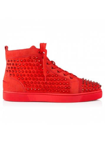 "Christian Louboutin Louis ""Poppy Spikes"""