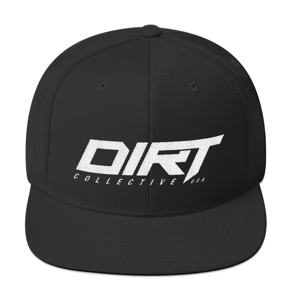 DC USA Pure Black Snapback