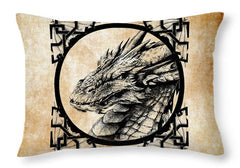Dragon Throw Pillow - Smaug The Terrible