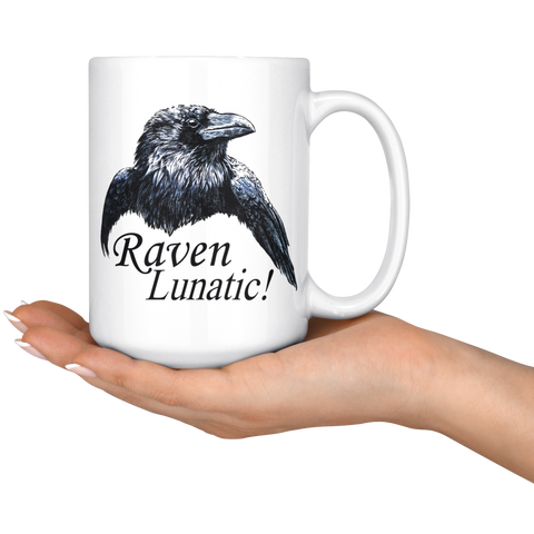 Raven Lunatic Large Mug