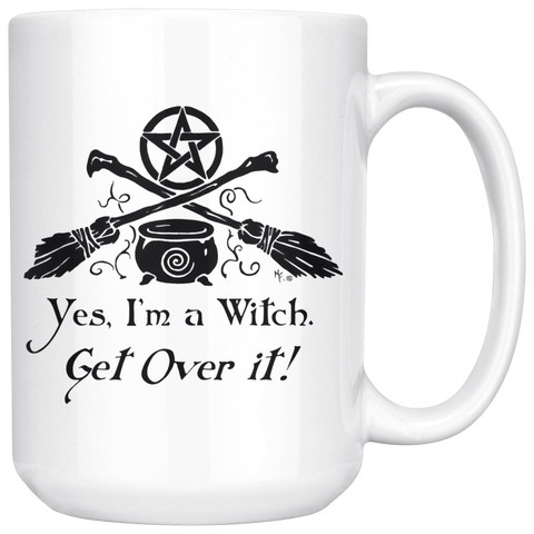 Yes, I'm a witch Mug