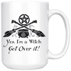 Yes, I'm a Witch Funny Wiccan Pagan Mug