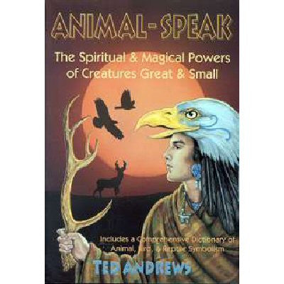 Animal Speak by Ted Andrews Book
