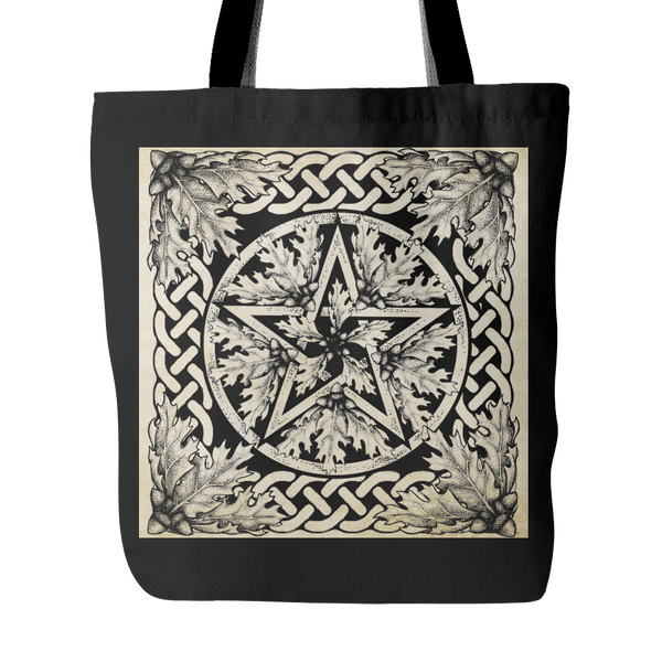 Oak Pentacle Tote Bag