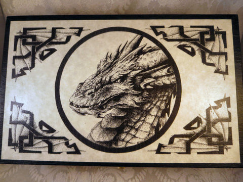 Dragon Smaug Box Top