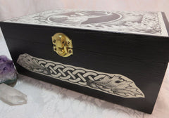 Celtic Stag Box Side