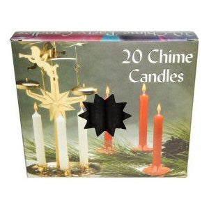Box Black Mini Chime Candles