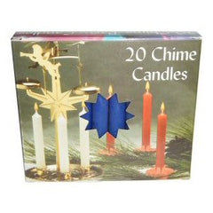 Box Dark Blue Mini Chime Candles