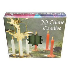 Box Dark Green Mini Charm Candles
