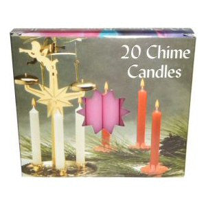 Box Pink Mini Chime Candles