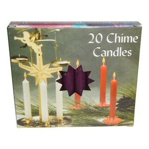 Box Purple Mini Chime Candles
