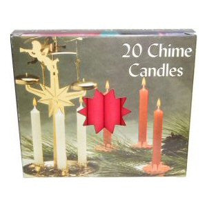 Box Red Mini Chime Candles