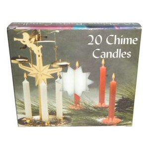 Box White Mini Chime Candles