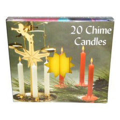 Box Yellow Mini Chime Candles