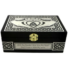 Claddagh Box with Custom Option